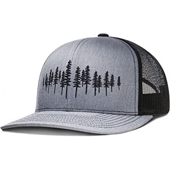 LARIX GEAR Trucker Hat, Tamarack Forest