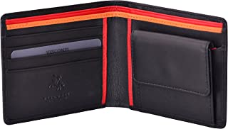 VISCONTI ® Portafoglio Uomo Vera Pelle con protezione RFID Porta Carte di Credito con Portamonete Borsellino Portafogli a ...