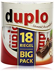 Ferrero Duplo Big Pack, 18 Riegel, 327 g