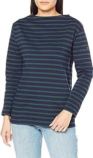 [セントジェームス] Tシャツ 2501無地 ネイビー/ピン LADIES S-M [並行輸入品]