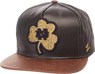 Zephyr Adult Men Tribute Heritage Collection Hat, Team Color/Cracked Leather, Adjustable