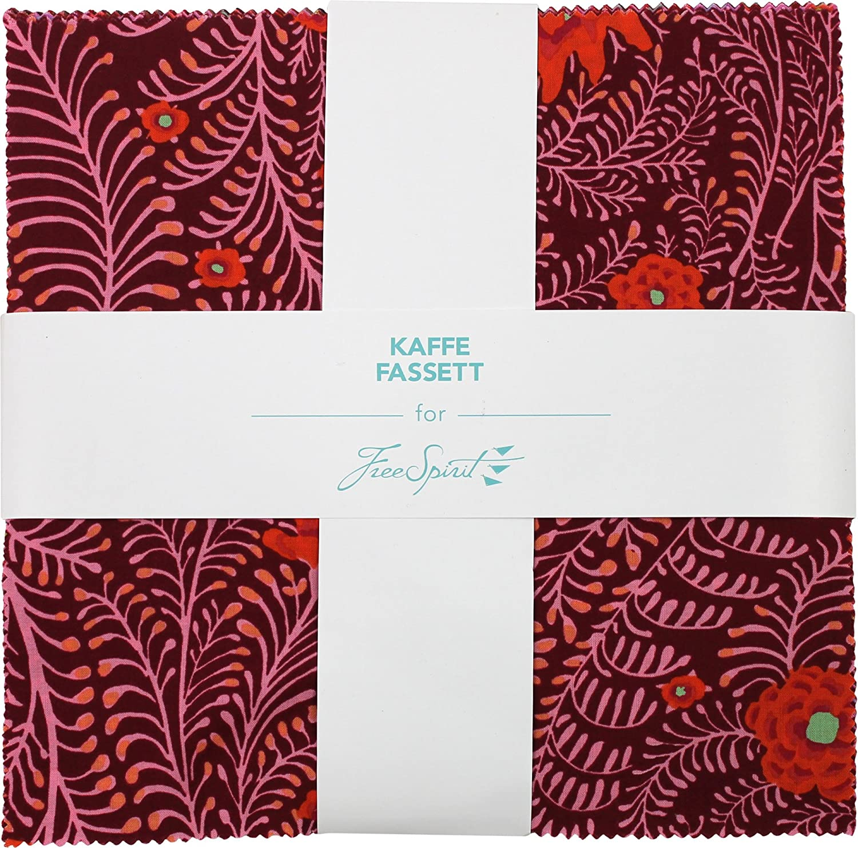 Free Spirit Fabrics Kaffe Fassett Lipstick Ten Large special price !! Inch Sales Collective C