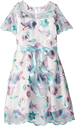 Us Angels Embrodiered Dress (Big Kids)