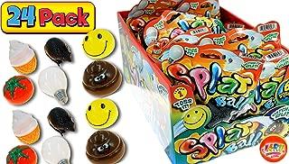 Splat Ball (Pack of 24 Balls) by JARU | Squish Splash Toys | Item #5303-24