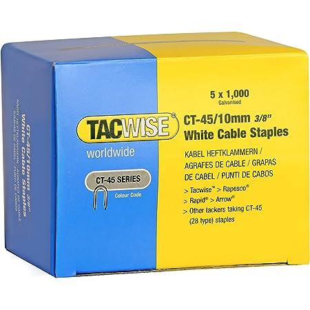 TACWISE 1153 Grapadora Combi para Cables de 4.5 mm y de 6 mm ...