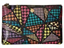 Lodis Accessories Houndstooth RFID Flat Pouch (Multi)