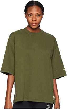 PUMA - Puma x Fenty by Rihanna Short Sleeve Crew Neck T-Shirt