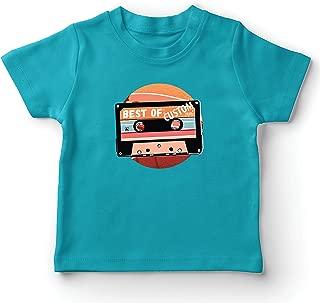 lepni.me Kids T-Shirt Vintage Cassette Custom Best of Year 80s, 90s, 70s