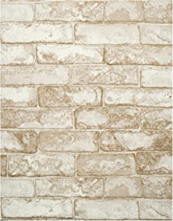 York Wallcoverings RN1030 Modern Rustic Rustic Brick Wallpaper
