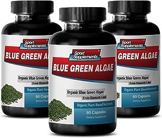 Supreme Immune System Supplement - Klamath Blue Green Algae 500mg (3 Bottles 180 Capsules)