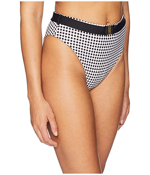 x Classic onia onia Emily WeWoreWhat Gingham Black Bottom 5fpqYFR
