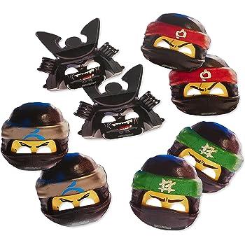 Lego Ninjago Characters Mask Children Party Favor Dress Up Lot option Gift bag