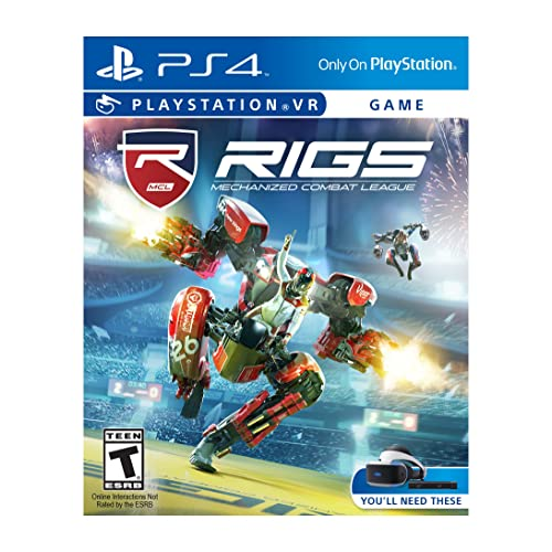 RIGS Mechanized Combat League - PlayStation VR 30db3b8550