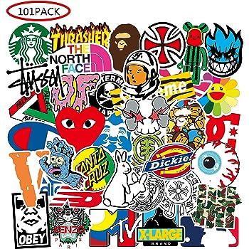 Cute Vinyl Sticker for Kids,Girls 50pcs-300pcs are optional Teens,Children,Perfect for Water Bottles,Laptop,Skateboard 50pcs Stickers Cool Random Stickers Pack
