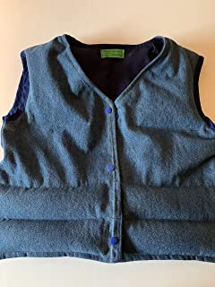Weighted vest, child size 7-8, 4 1/2 lbs, therapy vest, washable