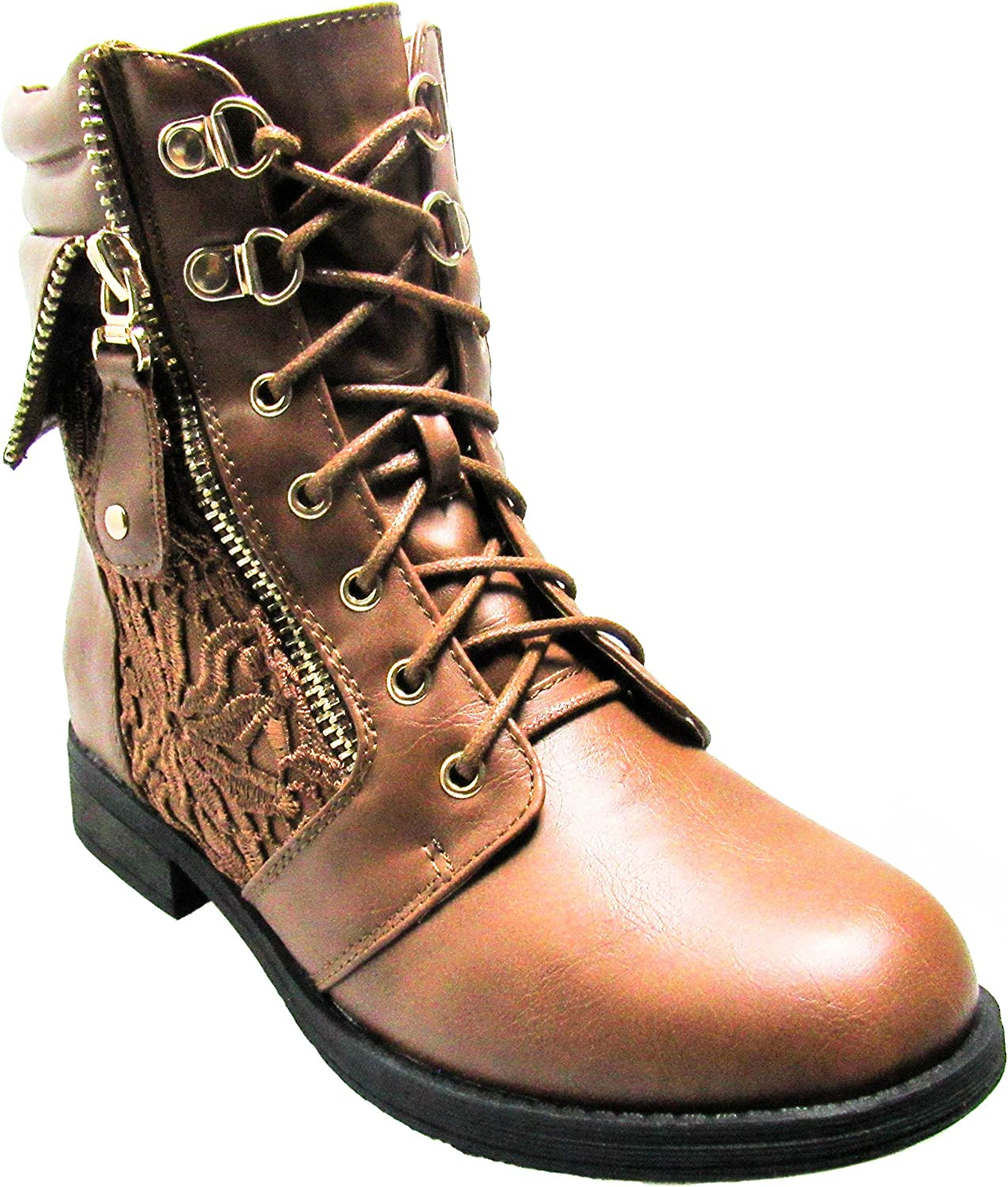 Forever Womens Sevilla-66 Tan Boots 10 D(M) US
