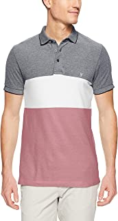 French Connection Men's Block Stripe Polo