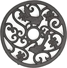 gasaré, Cast Iron Trivet, Metal Trivet, Birds Decor, for Hot Dishes, Pots, Kitchen, Countertop, Dining Table, Rubber Feet ...