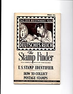 The Stamp Finder: Tells Country to Which Any Stamp Belongs (U. S. Stamp Identifier/ How to Collect Postage Stamps)