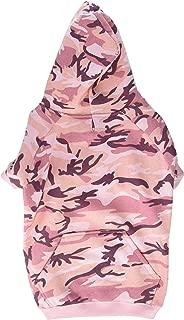 Best pink camo dog hoodie Reviews