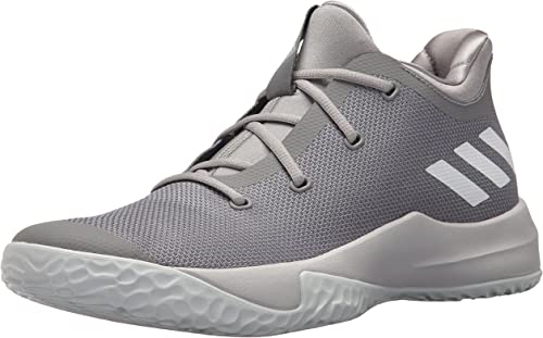 Adidas Performance Hommes's Rise up 2 Basketball chaussures, gris Three blanc Medium gris Heather, 9 M US