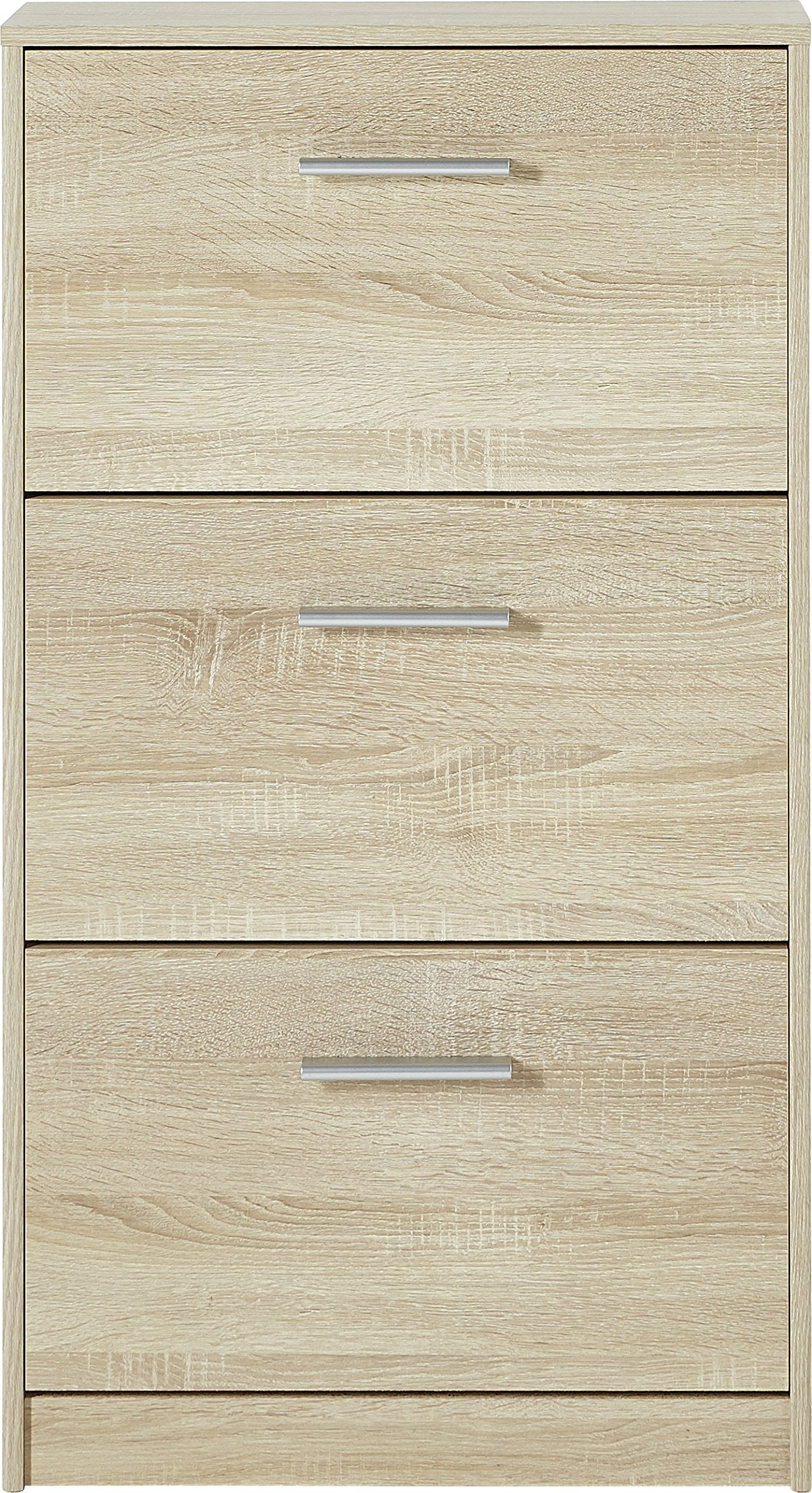 Germania Shoe Cabinet 3602 With 3 Flaps In Sonoma Oak Repro 58 X