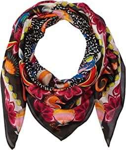 Sea Life Silk Scarf