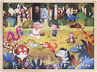 Ollie and Mr. Noodle: Silly Safari Jigsaw Puzzle   Children's 48 pc. 15.75