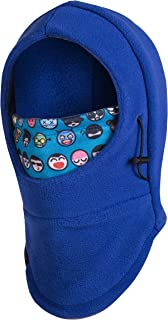 toddler hat with face mask