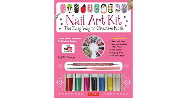 Nail Art Kit The Easy Way To Creative Nails Lalillimakeup Manzoni Stefano Amazon Sg Books