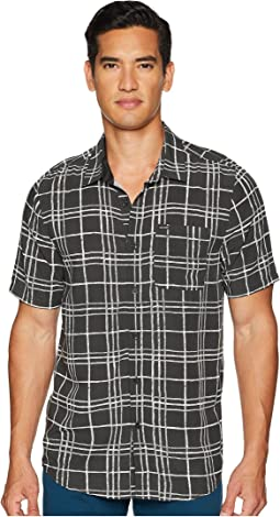 Klasey Short Sleeve Woven Top