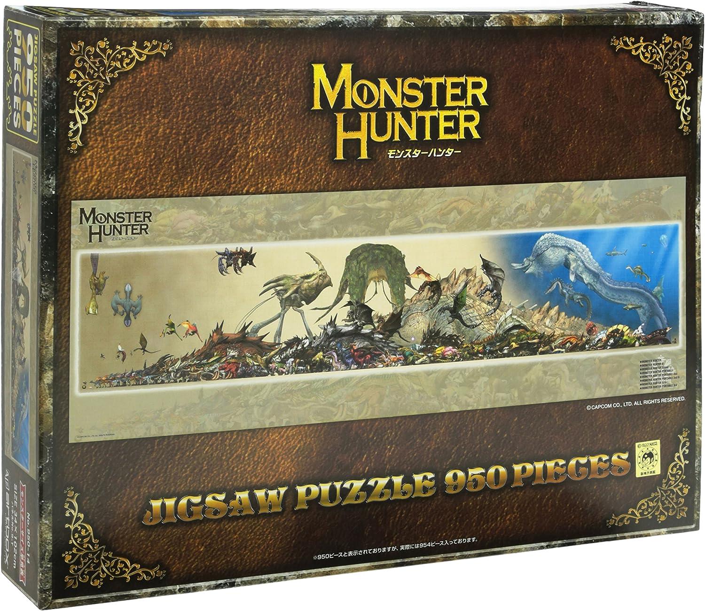Monster Hunter  950P Jigsaw Puzzle [Monster Size Chart]