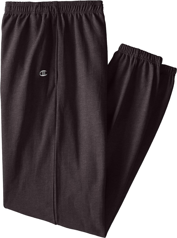 Champion Men's Big-Tall Fleece Pant, Charcoal Heather, X-Large/Tall