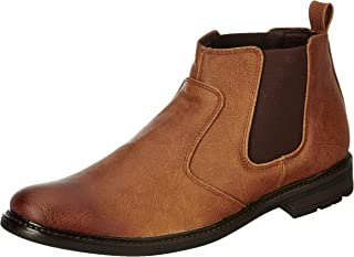 Amazon Brand - Symbol Men's Synthetic Boots
