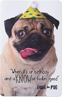happy birthday pugs and kisses
