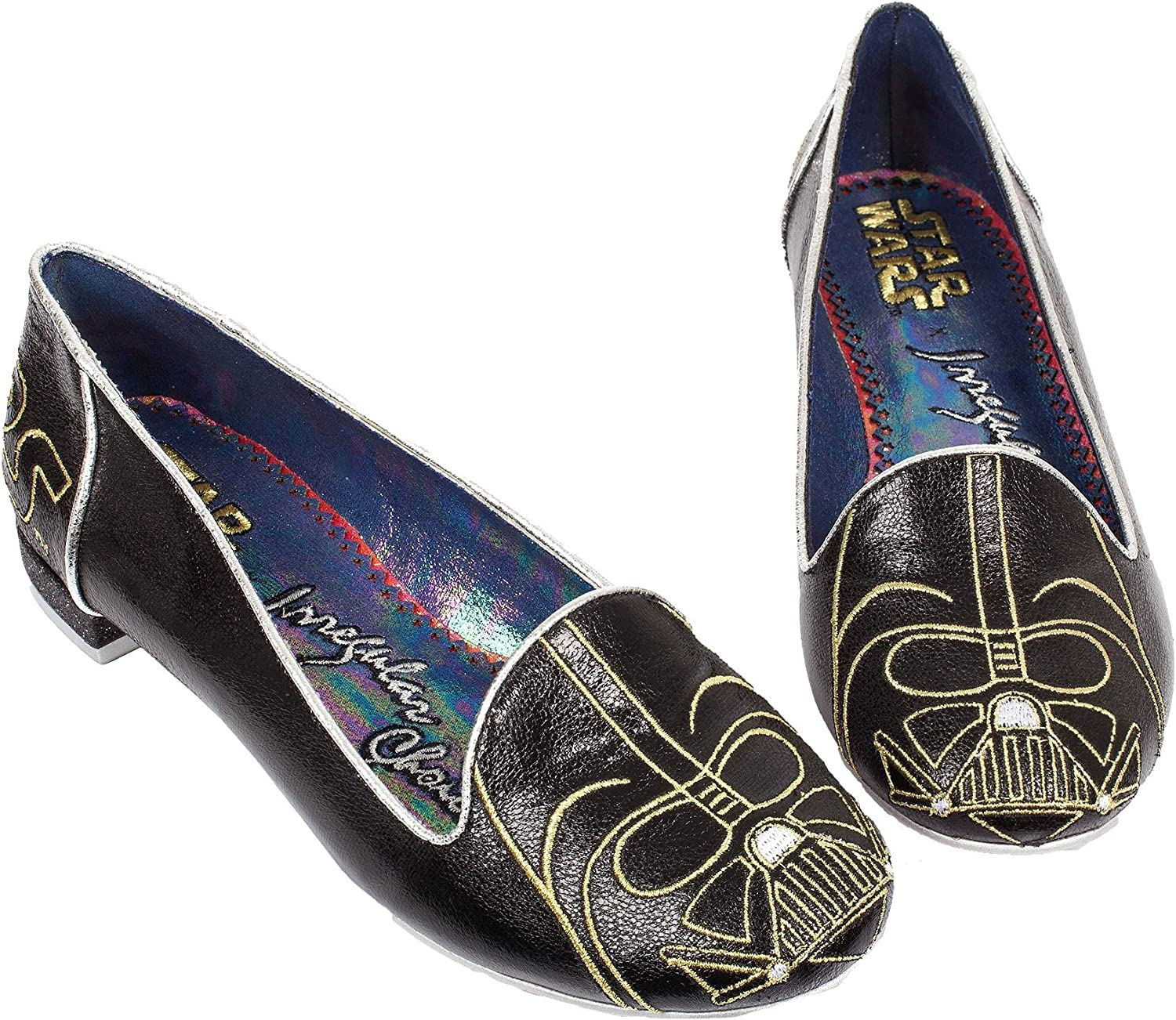 Irregular Choice Womens Star Wars Darth Vader Women's Loafer Black