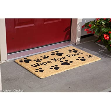 Kempf Wipe Your Paws Doormat 18  x 30