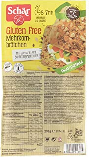 Schär Mehrkornbrötchen glutenfrei 210g, 6er Pack