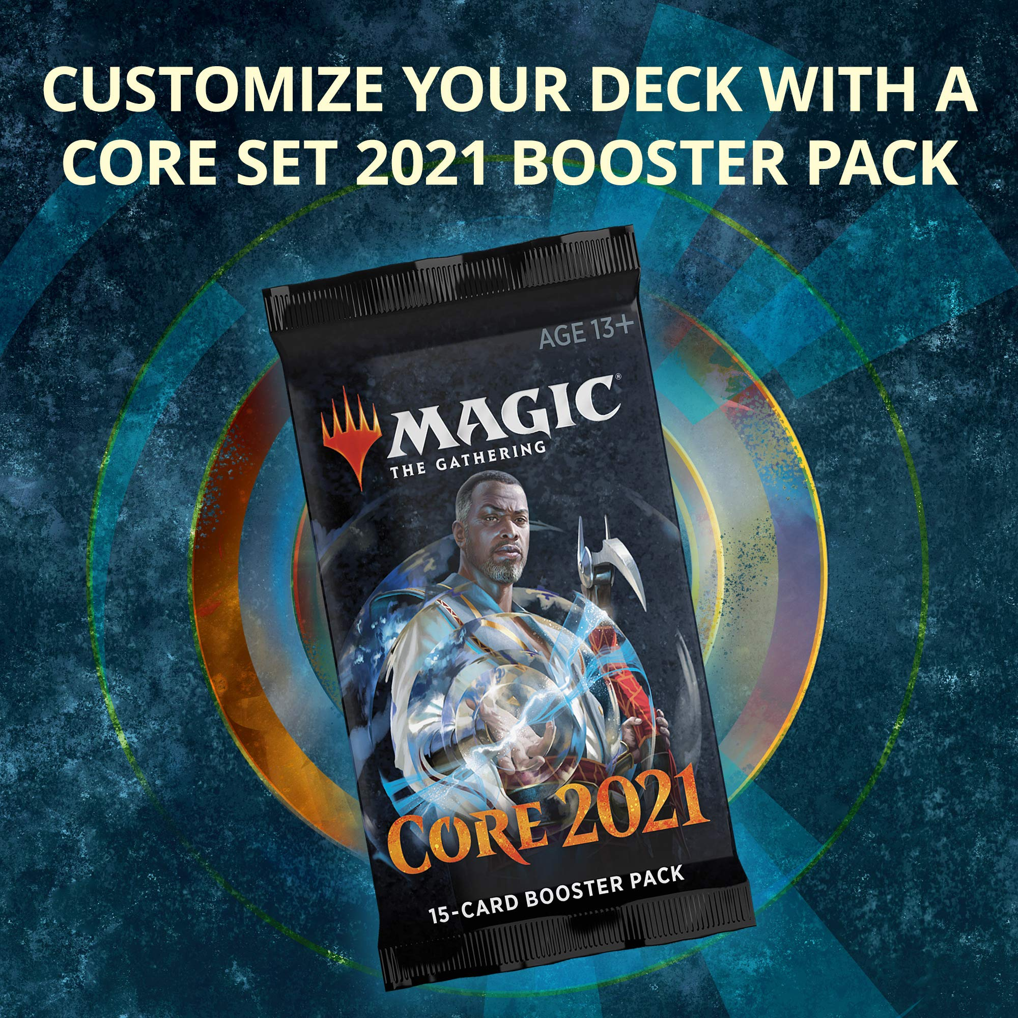 Magic The Gathering CORE21 CORE 2021 CHANDRA Deck Protector Sleeves box
