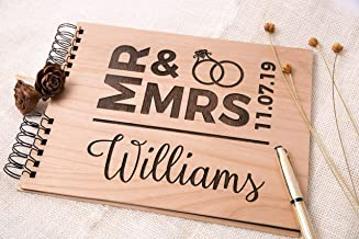 Personalized Photo Book - Mr & Mrs