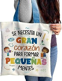 Totebag Pequeñas Mentes Maestra