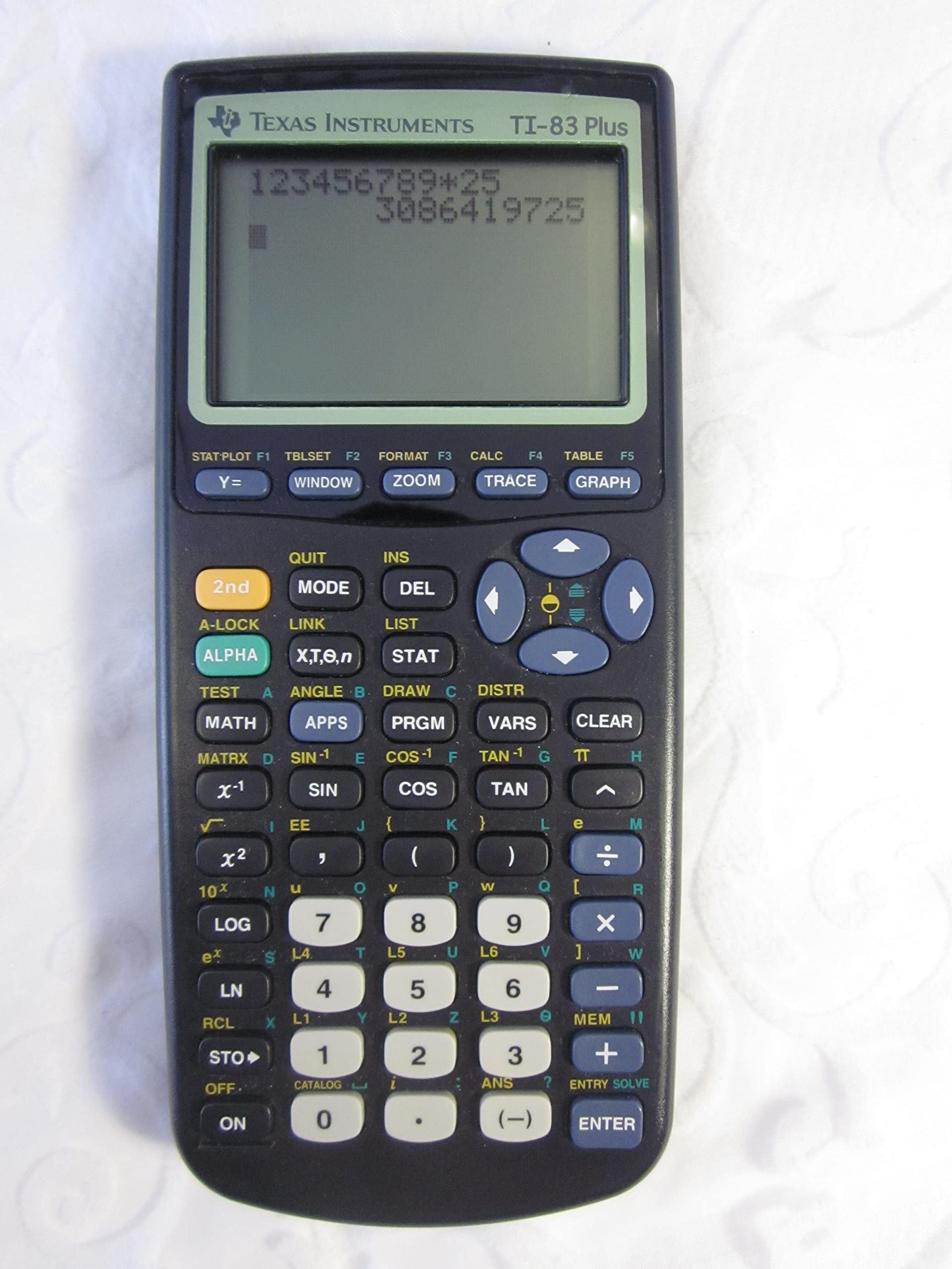 Texas Instruments TI 83 Plus Graphics Calculator