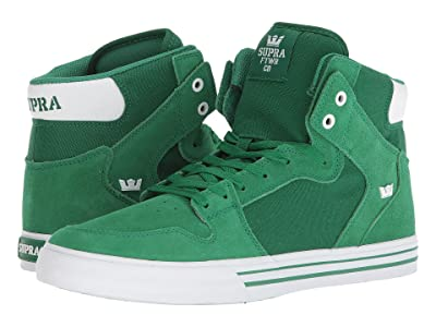 Supra Vaider (Green/White) Skate Shoes