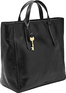Fossil Women's Backpack Handbag, 12.25''L x 5''W x 10.5''H, Black
