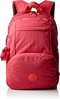 (Punch Pink C) - Kipling - HAHNEE - Large Backpack - Punch Pink C - (Pink)