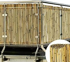 Sol Royal Canisse Bambou SolVision B38 100x250cm – Brise Vue Balcon, Jardin, terrasse – Brise Vent - Pare Soleil Naturel, Robuste & Facile à Monter