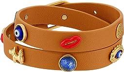 Tory Burch - Crazy Charms Skinny Cuff Bracelet