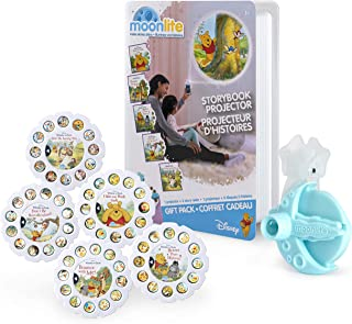 Moonlite, Winnie The Pooh Gift Pack with Storybook Projector for Smartphones & 5 Story Reels