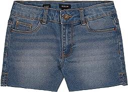 Cutoffs Side Vent Shorts (Big Kids)