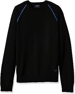 ARMANI JEANS Men's Plus Size Knit Pullover Sweater